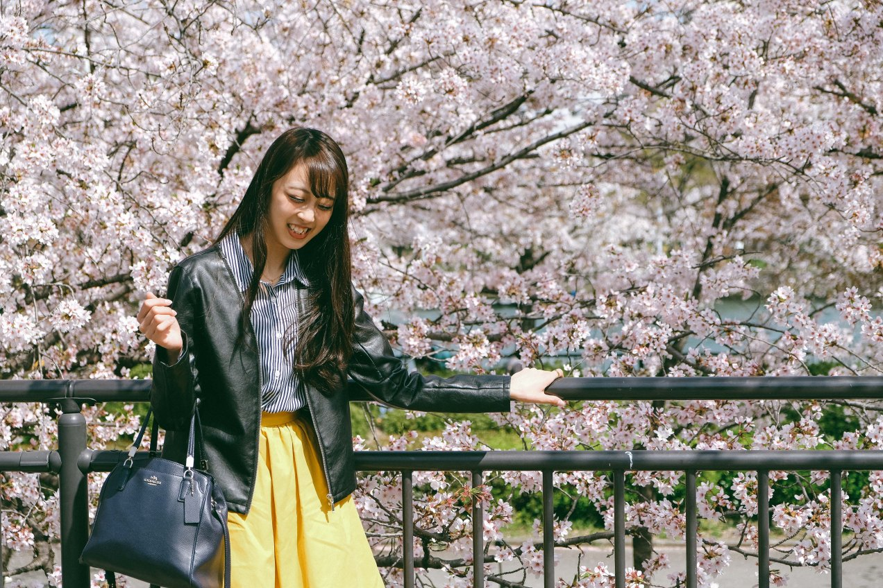 Mayu-chan Shoot In Spring For LOFN