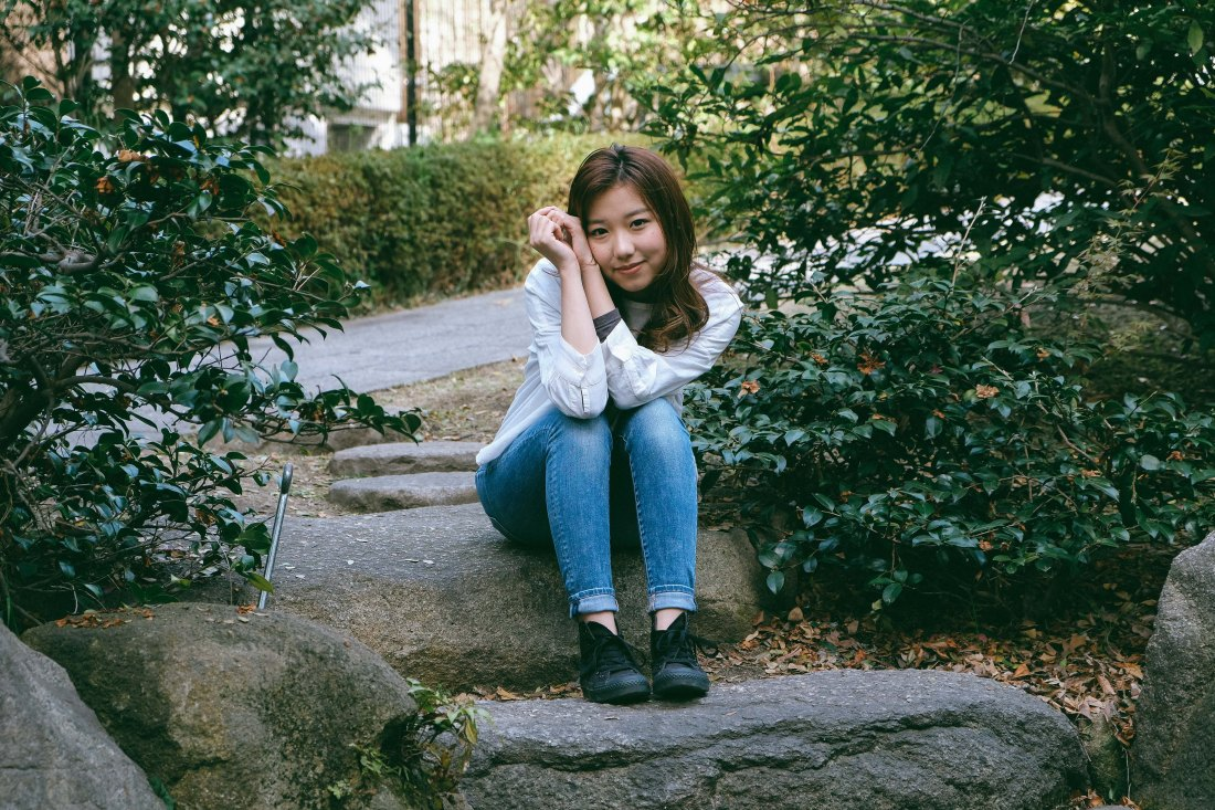 Momo-chan Shoot In Spring For LOFN
