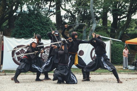 Nagoya Hospitality Battalion Corps Samurai Show